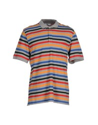 Ami Alexandre Mattiussi Ami Paris Topwear Polo Shirts Men Grey