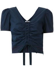 Isolda Realce Top Blue