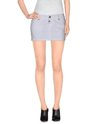 Paul Frank Denim Skirts White