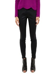 Ted Baker Annna Wax Finish Regular Length Skinny Jeans