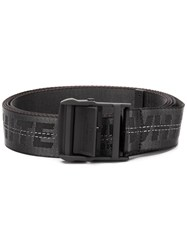 Off White Industrial Belt Black