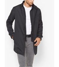 Wool Blend Tech Car Coat