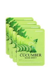 Forever 21 Cucumber Mask Sheet Set White