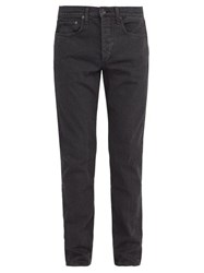 Rag And Bone Fit 2 Slim Leg Jeans Black