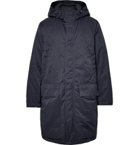 Acne Studios Montreal Down Filled Shell Parka Blue