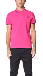 Mcq By Alexander Mcqueen Polo Iconic Pink
