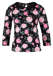 Dorothy Perkins Peony Long Sleeved Top Black