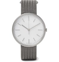 Uniform Wares M37 Precidrive Stainless Steel And Titanium Watch Silver
