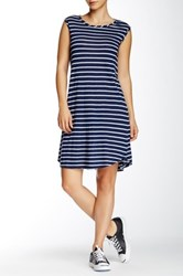 Allen Allen Muscle Dress Blue