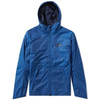Nike Padded Hooded Jacket Blue