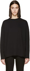 6397 Black Rolled Sweatshirt