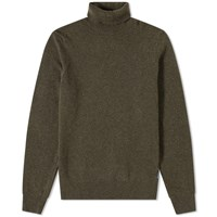 Barbour Leahill Roll Neck Knit Green