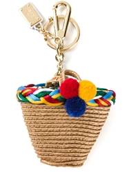 Dolce And Gabbana Shopping Basket Key Ring