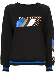 P.E Nation Elite Run Sweatshirt Black