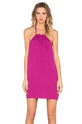 Nbd X Naven Twins Hopeless Halter Dress Purple
