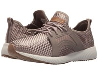 Skechers Bobs Sport Insta Cool Taupe Women's Lace Up Casual Shoes