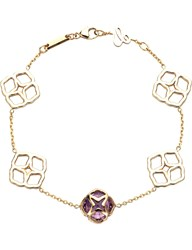 Chopard Imperiale 18Ct Rose Gold And Amethyst Bracelet