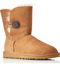 Ugg Bailey Button Sheepskin Boots Brown