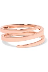 Anita Ko Coil 18 Karat Rose Gold Ring