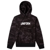 Uniform Experiment Camouflage Dripping Logo Hoody Multi