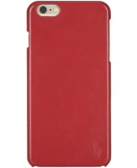 Polo Ralph Lauren Iphone Case Red