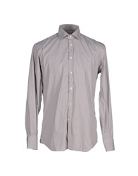 Del Siena Shirts Shirts Men Grey