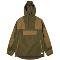 Vanquish Pullover Military Jacket Green