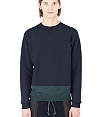 Kolor Beacon Crew Neck Sweater Navy