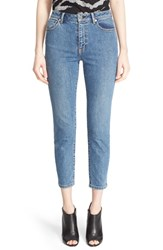 Women's Burberry Brit High Rise Slim Crop Jeans