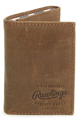 Rawlings Sports Accessories Men's Rawlings 'Benton Park' Leather Trifold Wallet