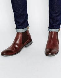 Base London Leather Chelsea Boots Brown
