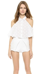 Alice Mccall Lonely Dancer Blouse White