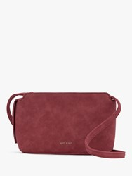 Matt And Nat Raven Vegan Cross Body Bag Red