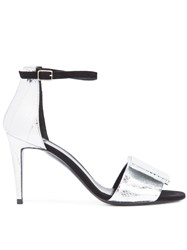 Pierre Hardy 'Obi' Sandals Metallic