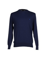 Royal Blue Sweaters Dark Blue