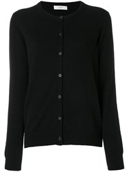 Pringle Of Scotland Round Neck Cashmere Cardigan Women Cashmere Xl Black