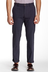Original Penguin Glen Plaid Slim Pant 32 34' Inseam Gray
