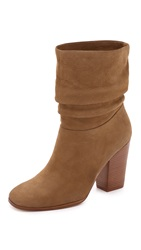 Sigerson Morrison Misi Scrunch Booties Cuoio