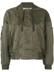 Kenzo Elevated Bomber Jacket Green