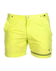 Danward Swim Trunks Acid Green