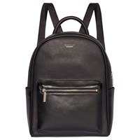 Modalu Maddie Leather Backpack Black