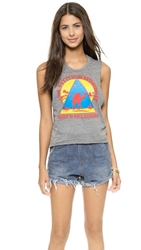 Chaser Tom Petty Rock N Roll Caravan Tee Streaky Grey