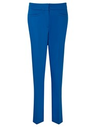 Gardeur Dyan Cropped Slim Trousers Royal Blue