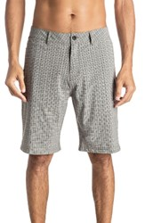 Quiksilver Men's Neolithic Amphibian Hybrid Shorts Quiet Shade