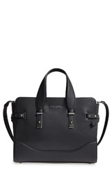 Marc Jacobs The Rivet Leather Satchel Black