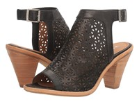 Trask Paisley Black Women's Flat Shoes
