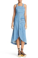 See By Chloe Women's Denim Overall Dress