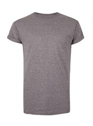 Topman Purple And Black Muscle Fit T Shirt