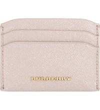 Burberry Izzy Patent Leather Card Holder Pale Orchid