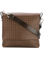 Salvatore Ferragamo Small Messenger Bag Brown